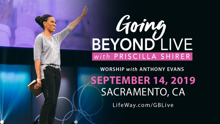 Going Beyond Live! with Priscilla Shirer logo image