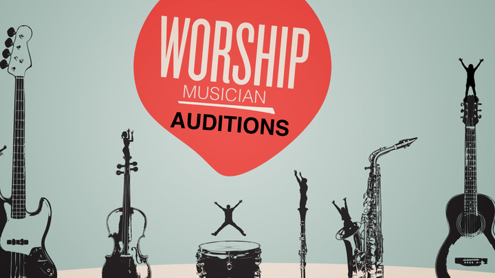 Worship Musician Auditions logo image