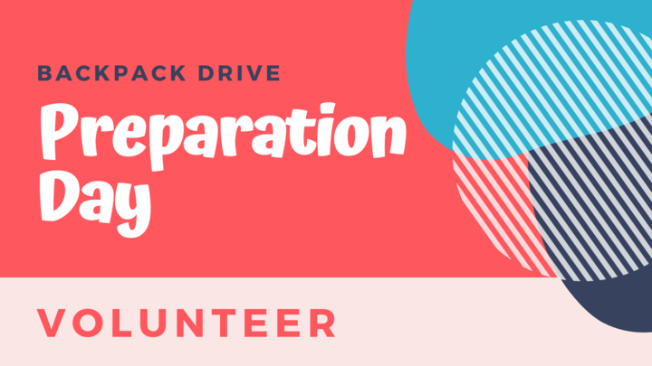 Backpack Drive Preparation Day logo image