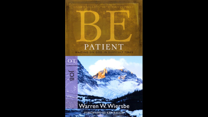 BIBLE CLASS FOR ADULTS - THE BOOK OF JOB: BE PATIENT                                                                                                               logo image