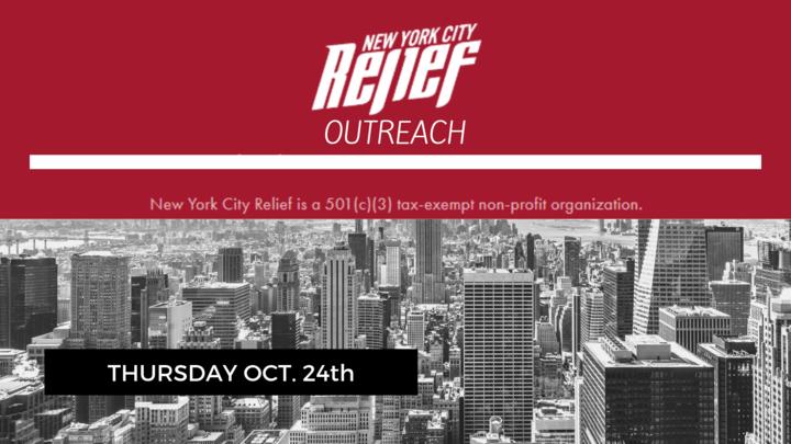 NYC RELIEF OUTREACH / ALCANCE DE AYUDA PARA NYC logo image