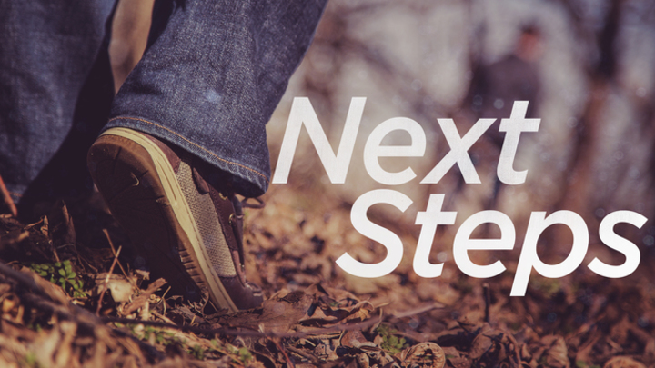 Greeneville Next Steps 4: Identify with Christ. & Tell the story. logo image