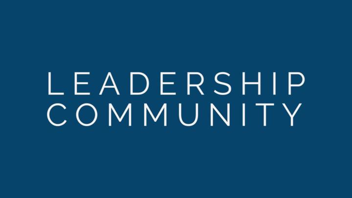 Leadership Community Meeting  logo image