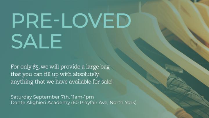 Community Engagement: Pre-Loved Sale - Volunteer Signup logo image