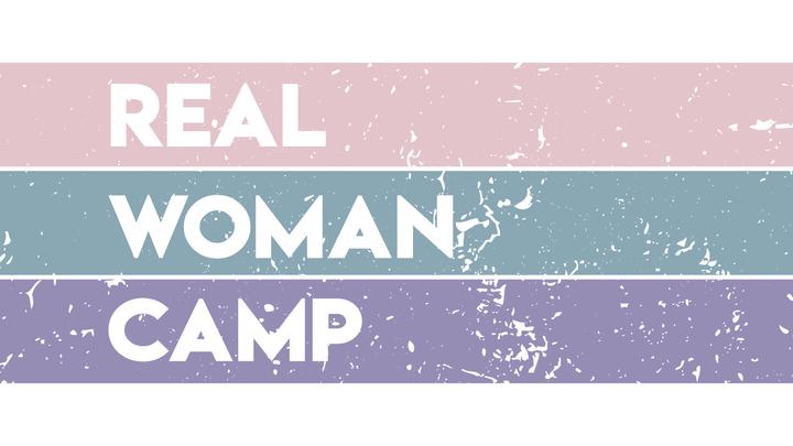 Real Woman Camp logo image