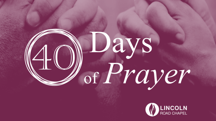 40 Days of Prayer logo image