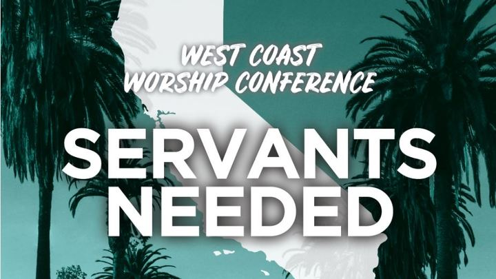 CCA 2019 West Coast Worship Conference CCCV Servant Sign-up logo image