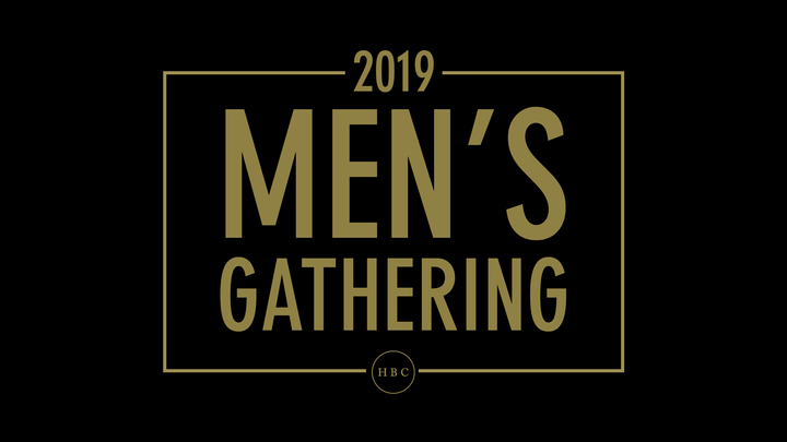 2019 Men's Gathering - September 13th logo image