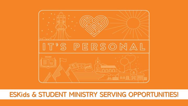 ESKids Children's Church & MSM/HSM Small Group Leaders Fall 2019 - VOLUNTEER OPPORTUNITIES! logo image