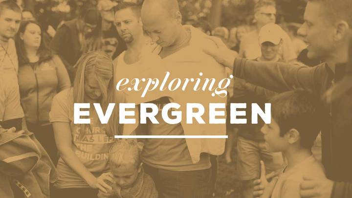 Exploring Evergreen logo image