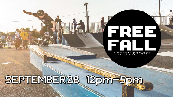 11th Annual Free Fall Event - VOLUNTEER OPPORTUNITIES! logo image