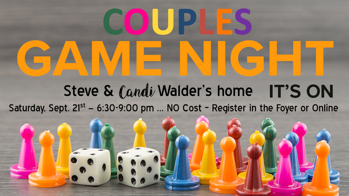 Couples Game Night - September logo image