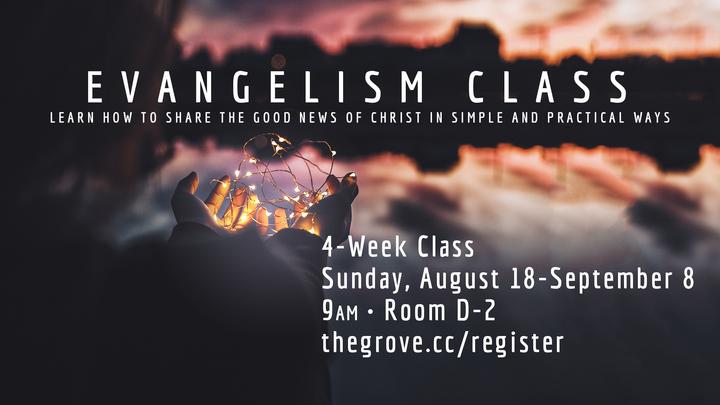 Evangelism Class logo image