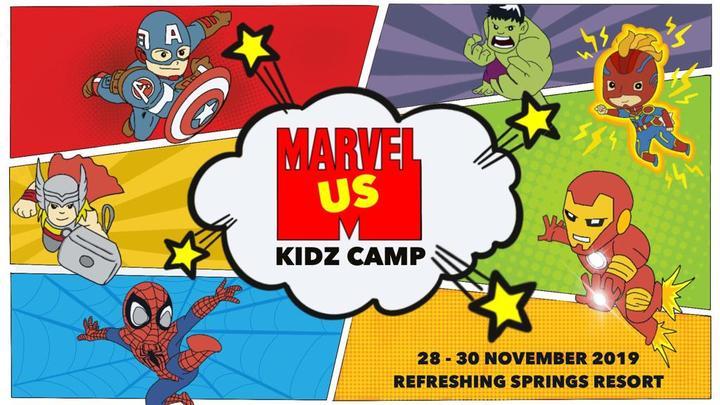 KIDZ CAMP 2019: Marvel-US logo image