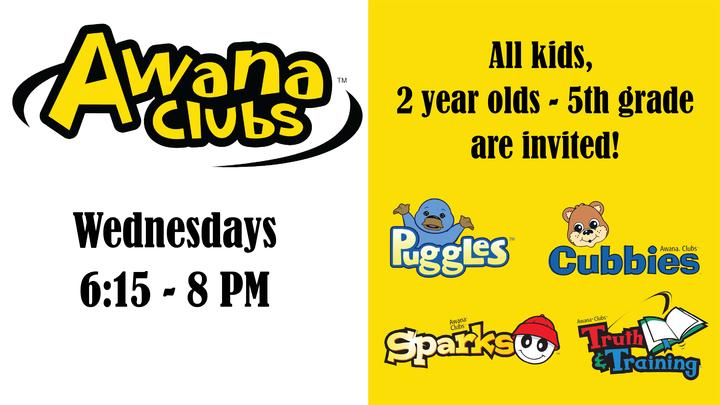 Awana Club 2019/20 - Begins September 11 at 6:15 PM logo image