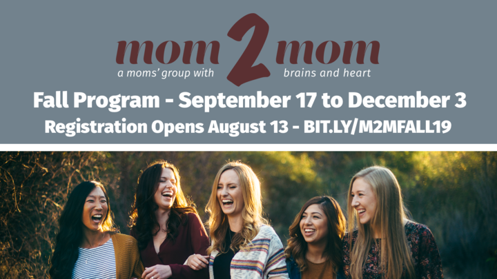 Mom2Mom Fall Program 2019 logo image