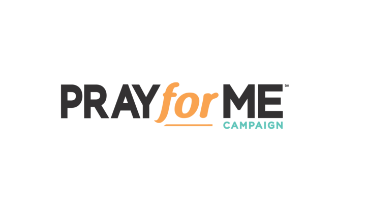Pray for Me Campaign logo image