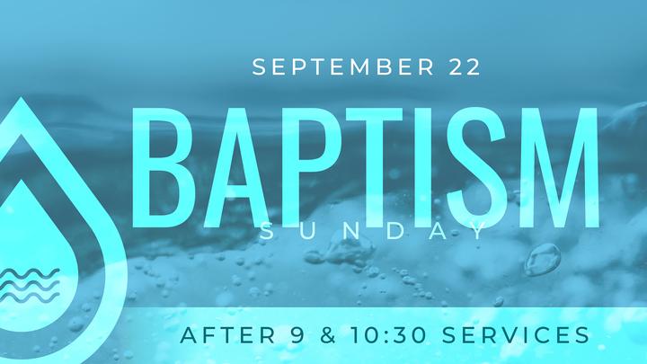 Baptisms - Seven Campus  logo image