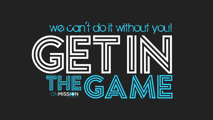 Get in the Game logo image