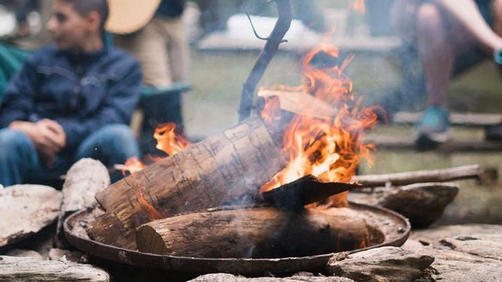 Youth Camping Trip logo image