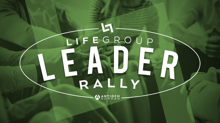 Lifegroup Leader Rally logo image