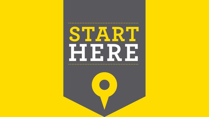 Start Here - October 2019 logo image