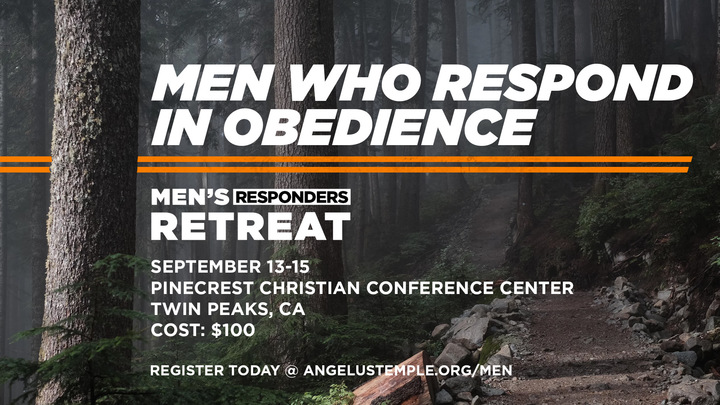 Men's Responders Retreat logo image