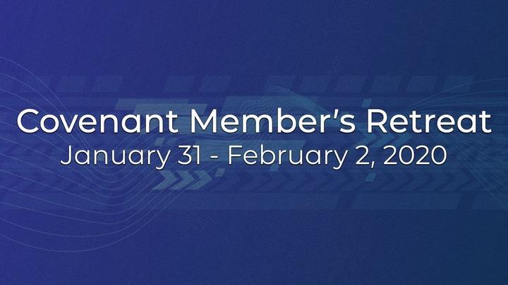 Covenant Members Retreat logo image