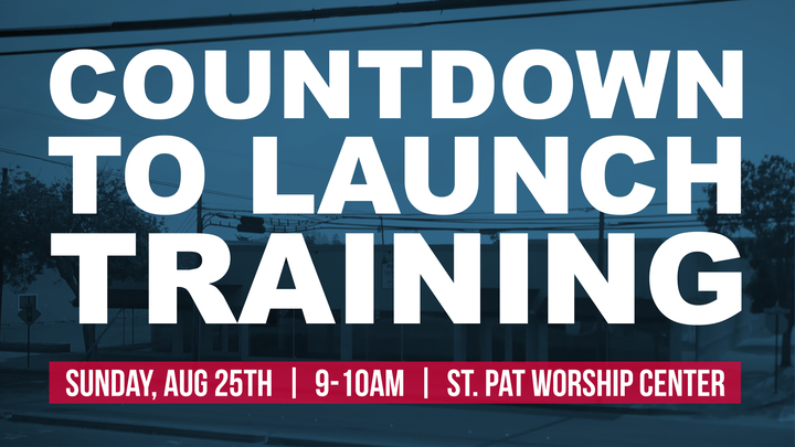 Countdown To Launch Training - Grace5Cities - August 25th 2019 logo image