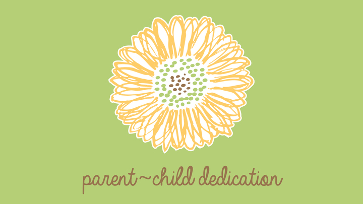 Parent - Child Dedication Frisco - November 2019 logo image