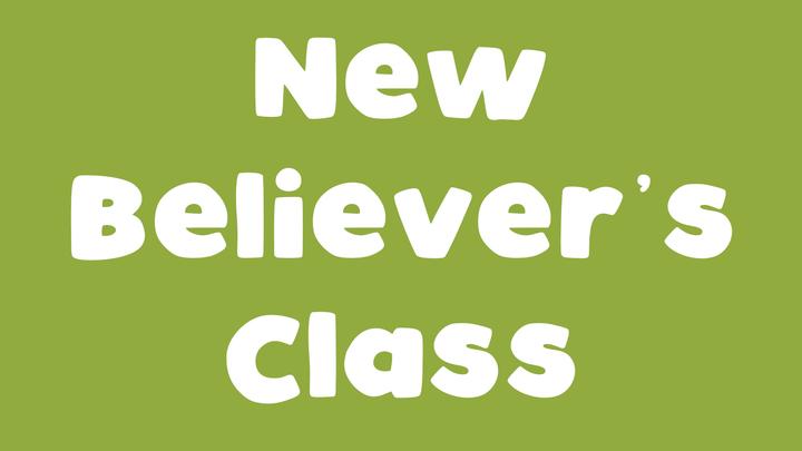New Believer's Class logo image