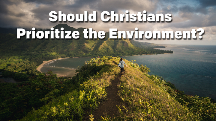 Should Christians Prioritize the Environment? logo image