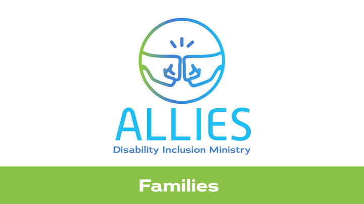 Allies Ministry (Disability Inclusion) Families logo image