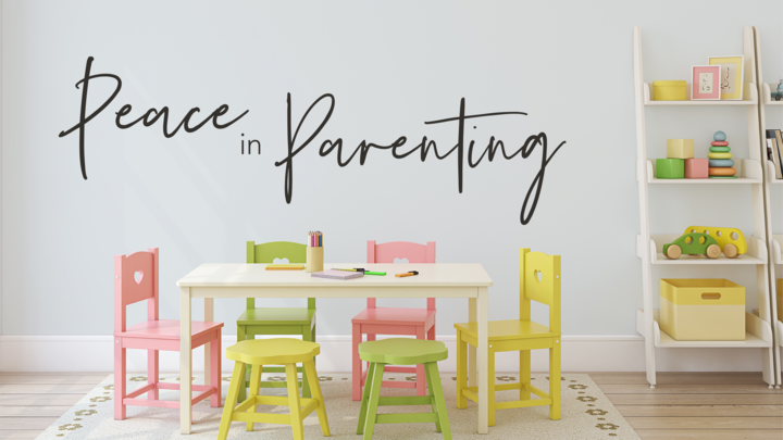 Peace in Parenting - Fall 2019 logo image
