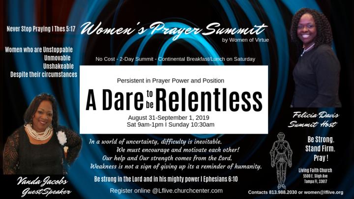 Women Prayer Summit 2019 logo image