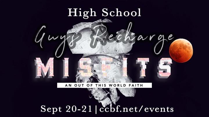 High School Guy's Recharge logo image
