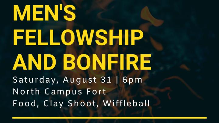 Men's Fellowship and Fire logo image