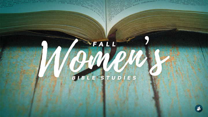 Fall Women's Bible Studies logo image