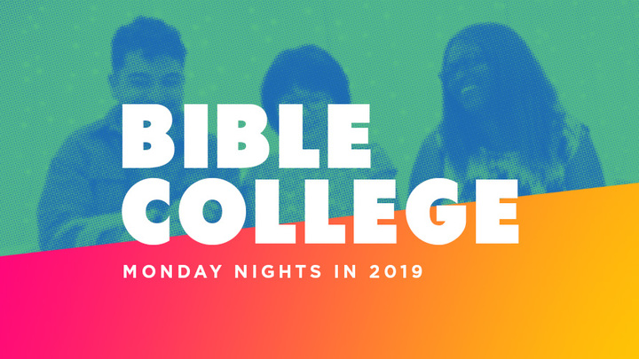 Bible College: Short Course - 2 Weeks with John (Sept 9 + 16) logo image