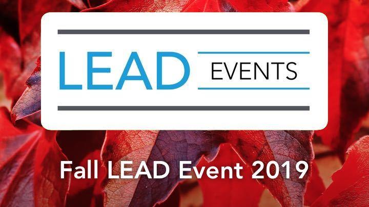 Fall LEAD Event logo image