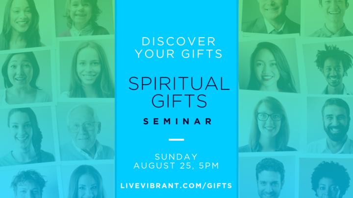 Spiritual Gifts Seminar logo image