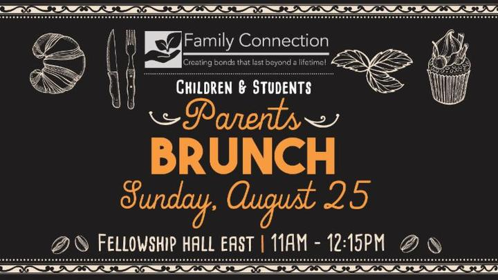 Children And Students Parent's Brunch logo image