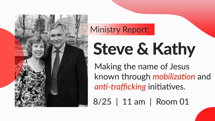 Ministry Report: Steve and Kathy logo image