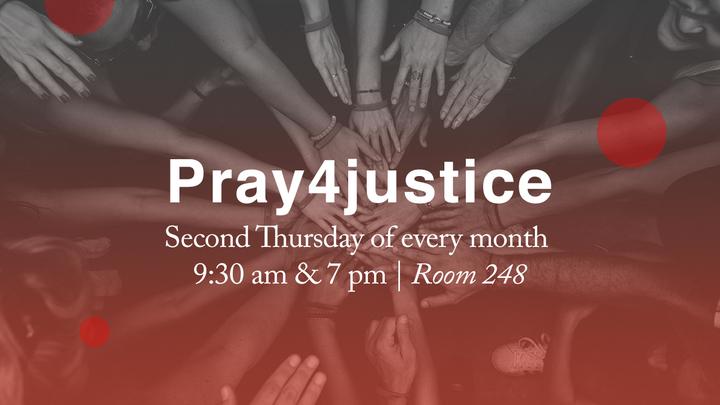 Pray4justice logo image