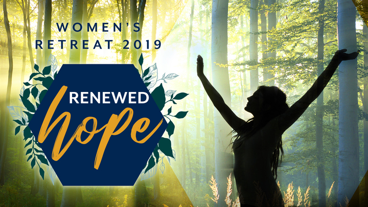 "Women's Retreat: ""Renewed Hope"" logo image"