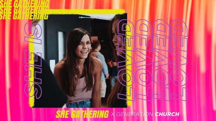 She Gathering logo image