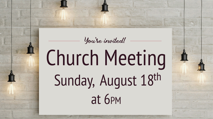 Church Meeting logo image