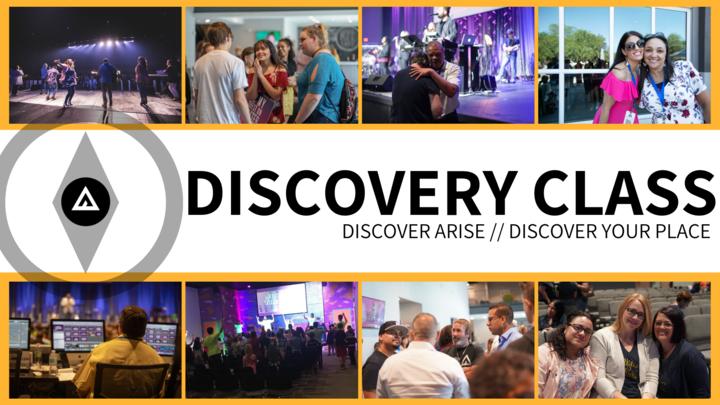 Discovery Class logo image