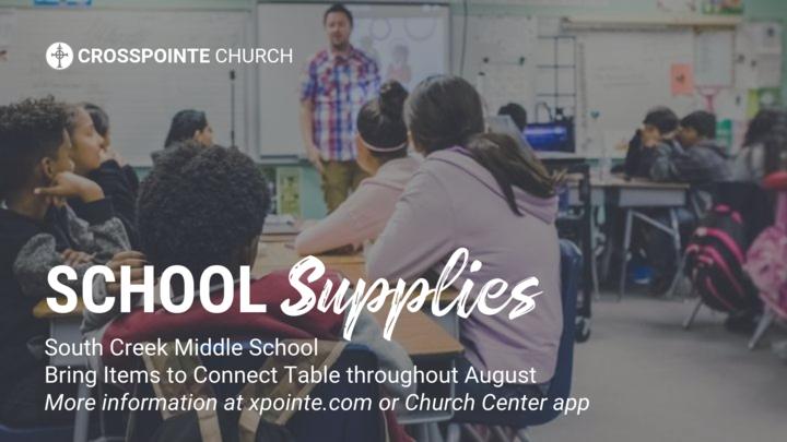 School Supplies @ South Creek Middle School logo image