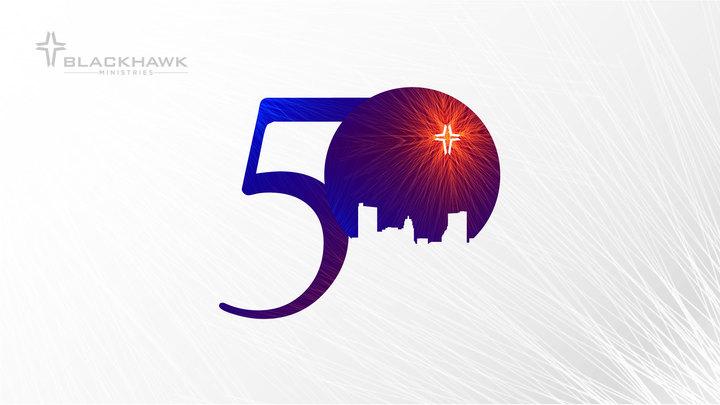 50TH Celebration logo image